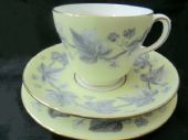 Wedgwood lemon  & ivy tea trio